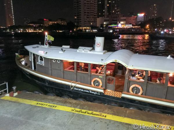 バンコク チャオプラヤー川 シェラトン 無料 シャトルボート 4