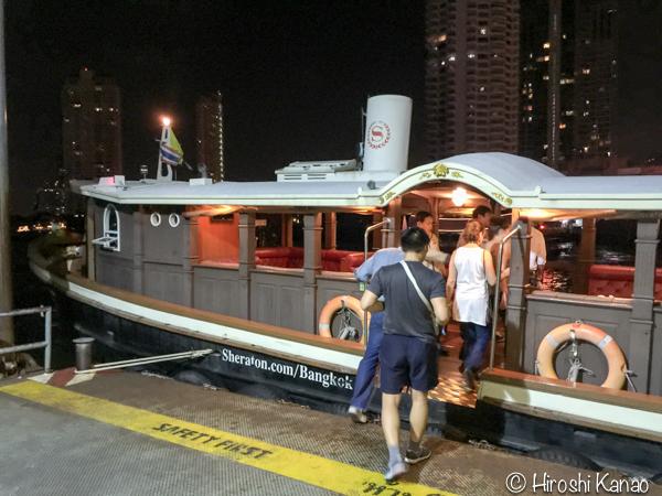 バンコク チャオプラヤー川 シェラトン 無料 シャトルボート 3