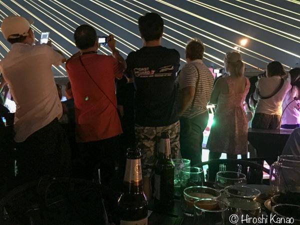 バンコク チャオプラヤー川 ディナークルーズ バンコク富山県人会 新年会 11