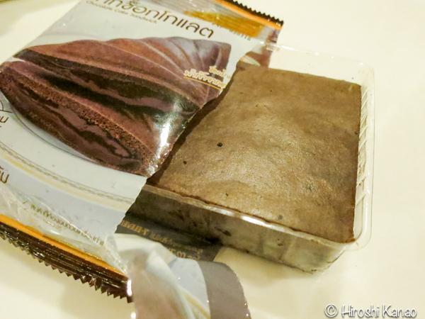 タイ セブン イレブン ホットサンド チョコレートケーキサンド 3