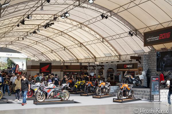 タイ バンコク バイク フェス 2016 bangkok motorbike festival 2016 15 honda