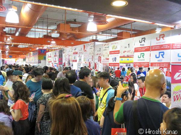TITF 2016 タイ旅行フェア クイーンシリキット コンベンションセンター 3