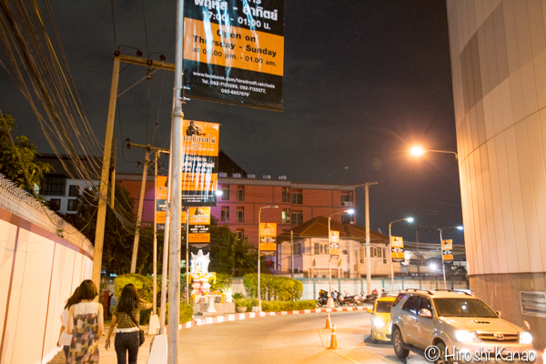 2015年1月 タラートロットファイ ラチャダー バンコク ナイトマーケット 人気スポット 観光