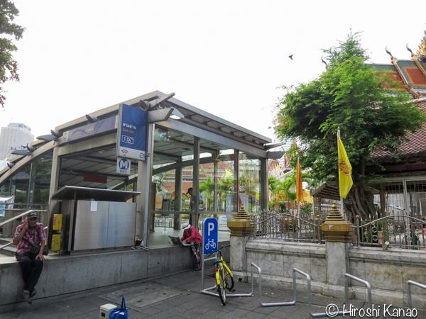 2 バンコク サムヤーン駅 MRT 地下鉄