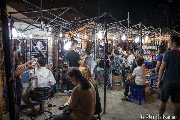 タラート ロットファイ ラチャダー タイカルチャーセンター ナイトマーケット エスプレネード裏 タイ 観光 バンコク 16