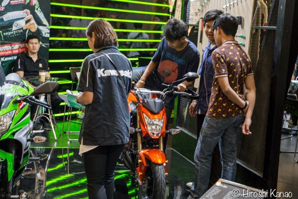 タイ バンコク バイク フェス 2016 bangkok motorbike festival 2016 7 Kawasaki