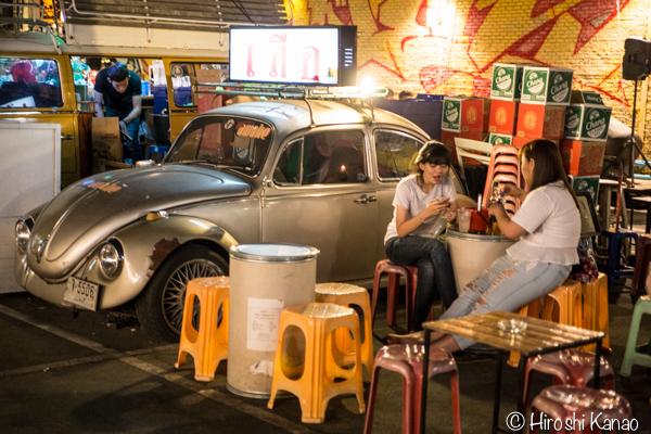 タラート ロットファイ ラチャダー タイカルチャーセンター ナイトマーケット エスプレネード裏 タイ 観光 バンコク 22