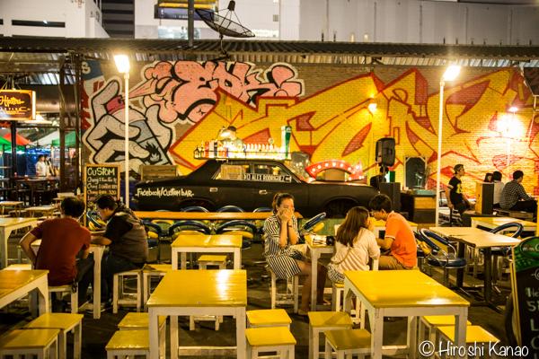 タラート ロットファイ ラチャダー タイカルチャーセンター ナイトマーケット エスプレネード裏 タイ 観光 バンコク 20