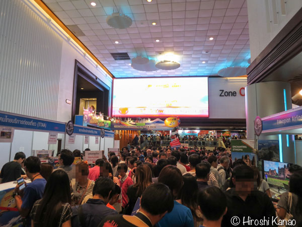 TITF 2016 タイ旅行フェア クイーンシリキット コンベンションセンター 1