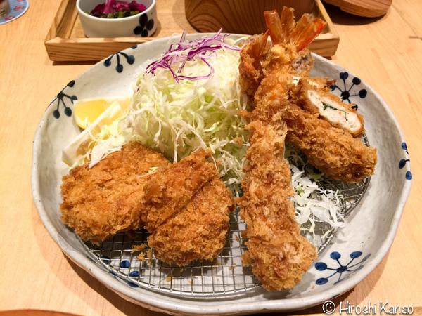 とんかつ 和幸 バンコク ISETAN 6階 釜炊きご飯 おかわり自由 3