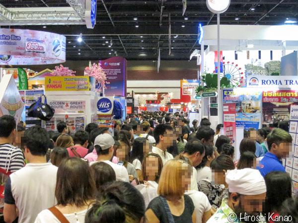 TITF 2016 タイ旅行フェア クイーンシリキット コンベンションセンター 10