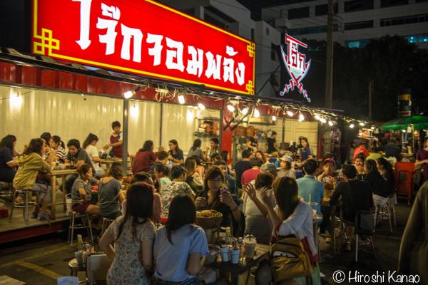 タラート ロットファイ ラチャダー タイカルチャーセンター ナイトマーケット エスプレネード裏 タイ 観光 バンコク 6