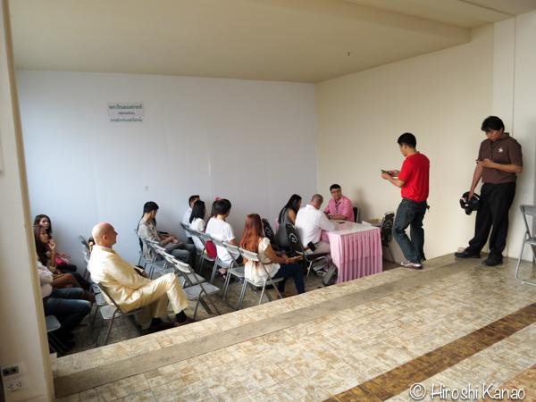 12バンコク 入籍 バンラック 特別会場 8