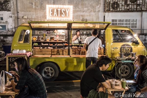 2015年1月 タラートロットファイ ラチャダー バンコク ナイトマーケット 人気スポット 観光 10