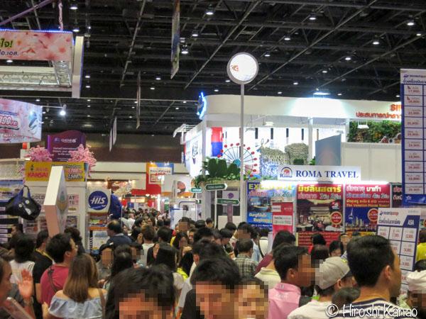 TITF 2016 タイ旅行フェア クイーンシリキット コンベンションセンター 9