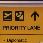 スワンナプーム空港の出国時にプライオリティーレーンを使用できるケース