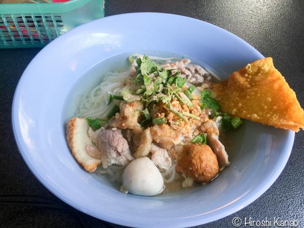バンコク タイ料理 クアイティアオ