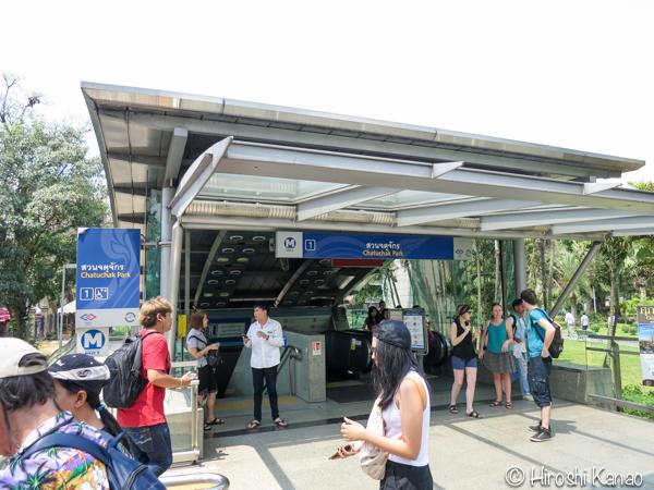 バンコクのモーチットからドンムアン空港まで高速バスで行く方法 1