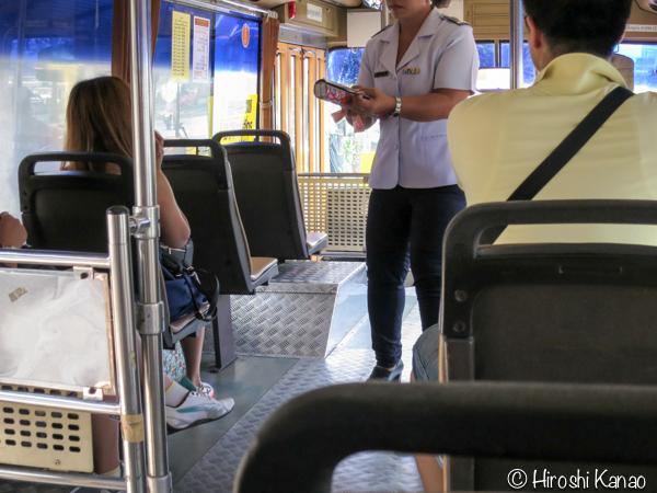 バンコクのモーチットからドンムアン空港まで高速バスで行く方法 7