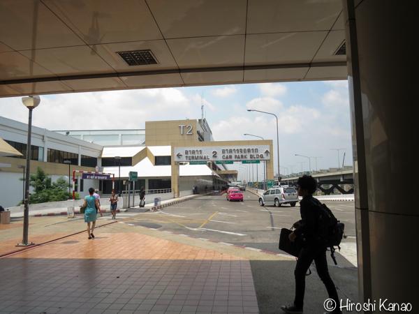 バンコクのモーチットからドンムアン空港まで高速バスで行く方法 12
