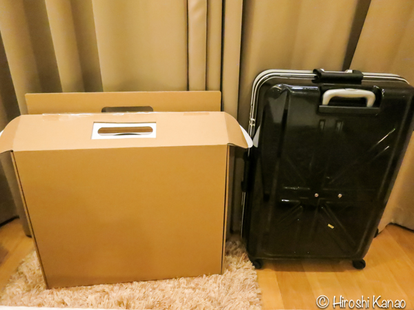Imac ハンドキャリー carry on  飛行機 手荷物 1