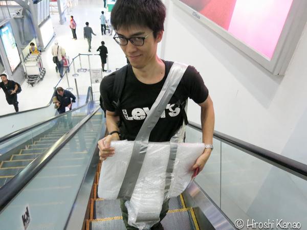 Imac ハンドキャリー carry on  飛行機 手荷物 18