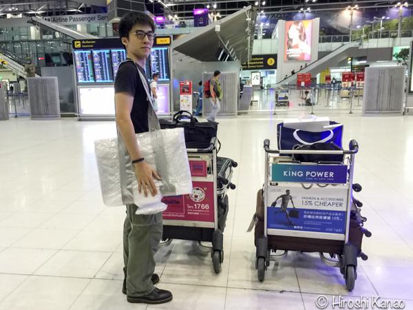 Imac ハンドキャリー carry on  飛行機 手荷物 33