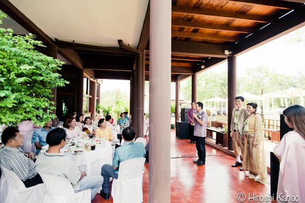 タイ 結婚式 タイ式ウェディング タイ人と結婚 国際結婚 披露宴 1