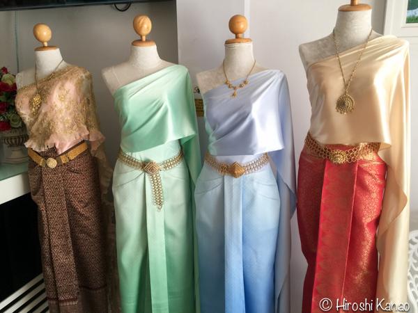 タイ 伝統的結婚式 衣装 7
