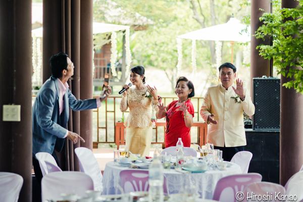 タイ 結婚式 タイ式ウェディング タイ人と結婚 国際結婚 披露宴 4