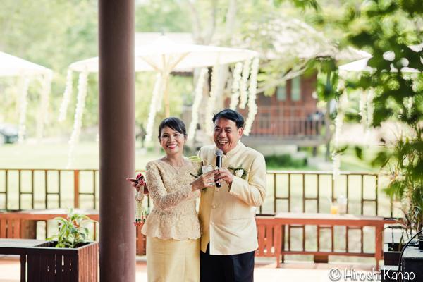 タイ 結婚式 タイ式ウェディング タイ人と結婚 国際結婚 披露宴 3