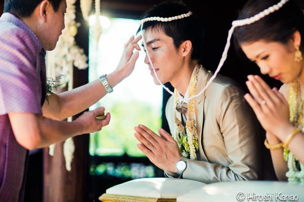 タイ 結婚式 タイ式ウェディング タイ人と結婚 国際結婚 結納金 ゴールド 15