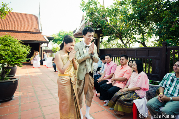 タイ 結婚式 タイ式ウェディング タイ人と結婚 国際結婚 読経11