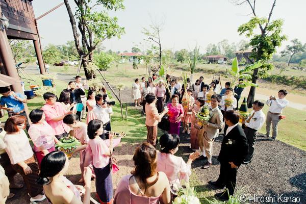タイ 結婚式 タイ式ウェディング タイ人と結婚 国際結婚 関門 6