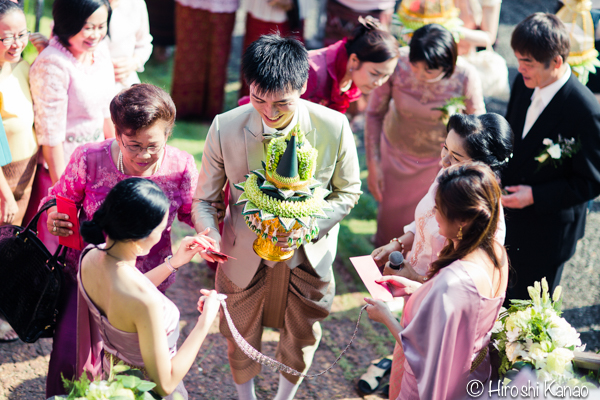 タイ 結婚式 タイ式ウェディング タイ人と結婚 国際結婚 関門 9