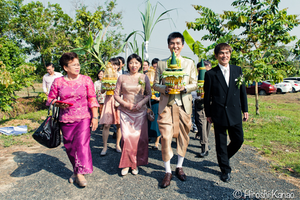 タイ 結婚式 タイ式ウェディング タイ人と結婚 国際結婚 関門 7