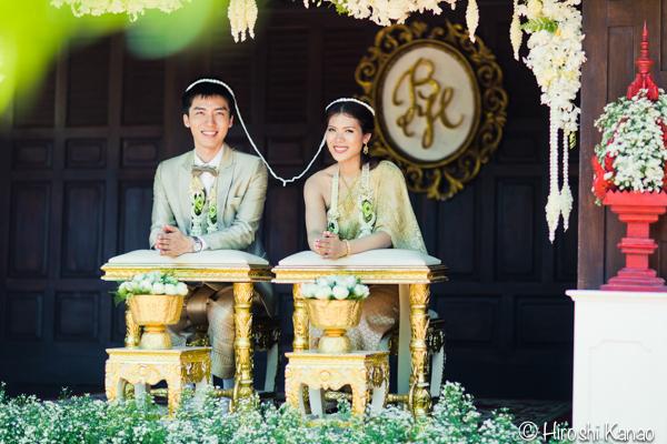 タイ 結婚式 タイ式ウェディング タイ人と結婚 国際結婚 結納金 ゴールド 18