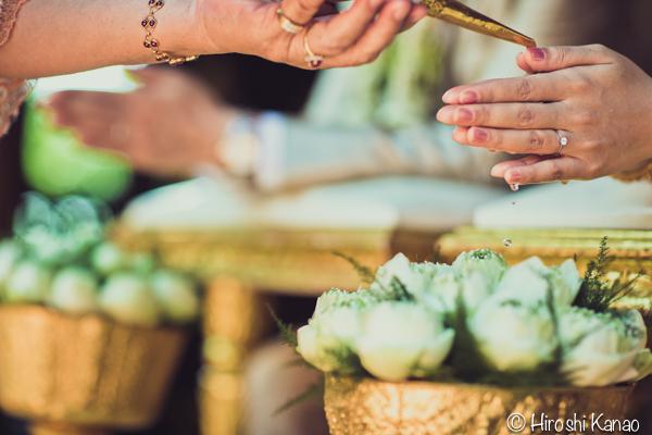 タイ 結婚式 タイ式ウェディング タイ人と結婚 国際結婚 結納金 ゴールド 17