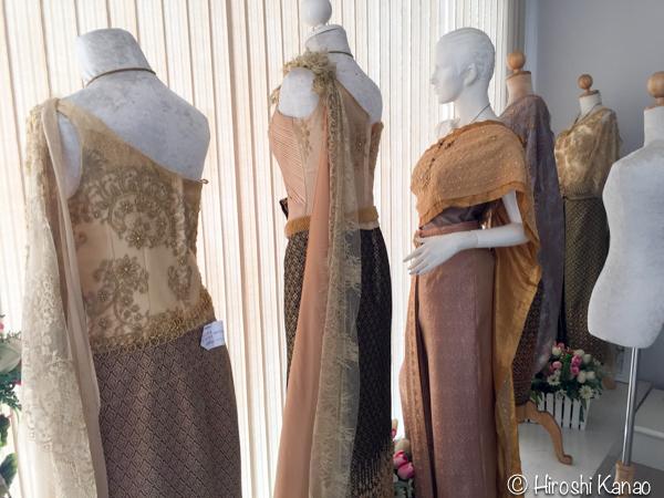 タイ 伝統的結婚式 衣装 8