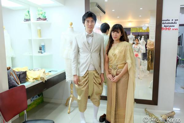 タイ 伝統的結婚式 衣装 4