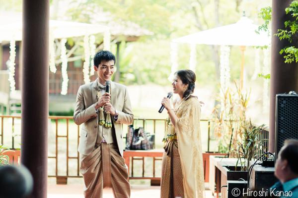 タイ 結婚式 タイ式ウェディング タイ人と結婚 国際結婚 披露宴 2